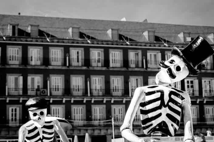 Corny dad jokes-skeleton