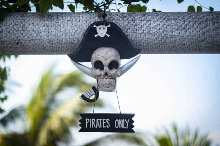 Corny Dad Jokes - Why did the pirate go out of business?