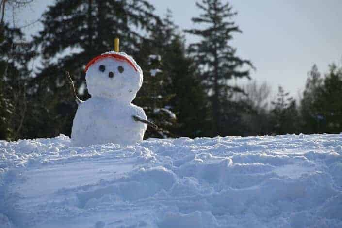 corny jokes-What do you call an old snowman_ Water.