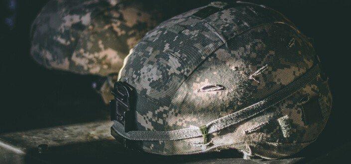 Military tactical helmets. - corny jokes